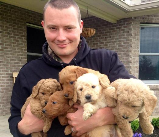 Rob and the Summer 2013 Pups